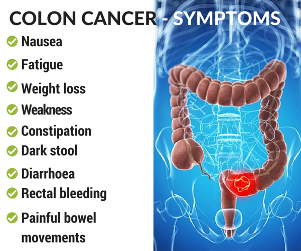 Symptoms Of Stage 4 Colon Cancer