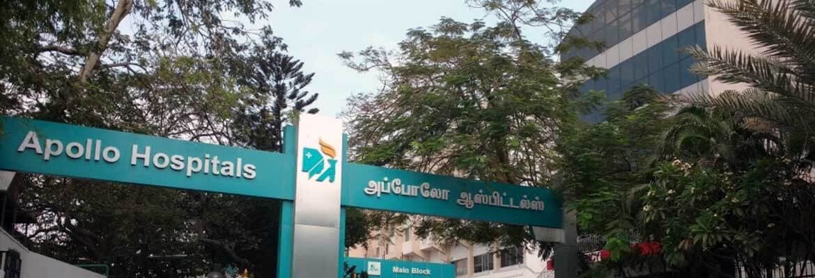 Apollo Hospitals (Greams Road) in Chennai