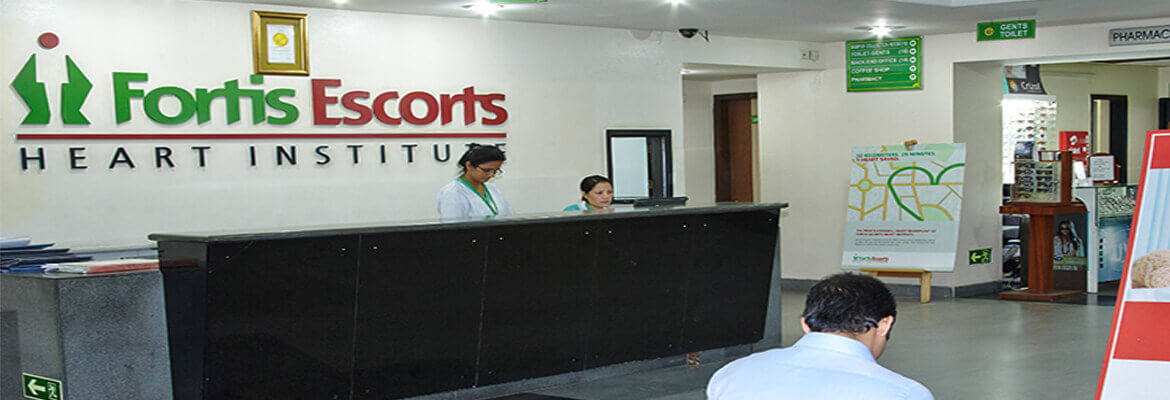 Fortis Escorts Heart Institute & Research Centre (Okhla)