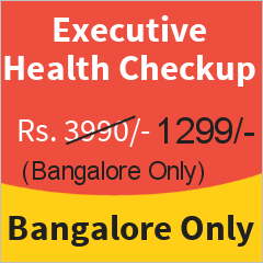 Executive Health Checkup in Bangalore at 67.44% Discount