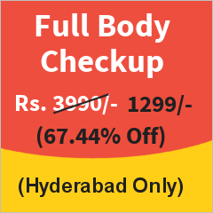 Executive Health Checkup in Hyderabad at 67% Discount