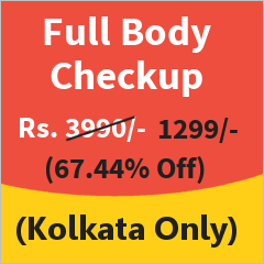 Full Body Checkup in Kolkata at 67% Discount
