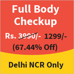Executive Health Checkup in Delhi NCR at 67% Discount