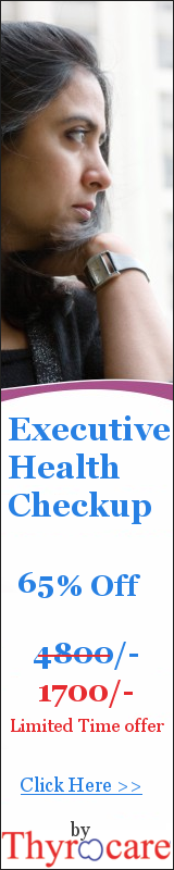Never Before Executive Health Checkup Offer