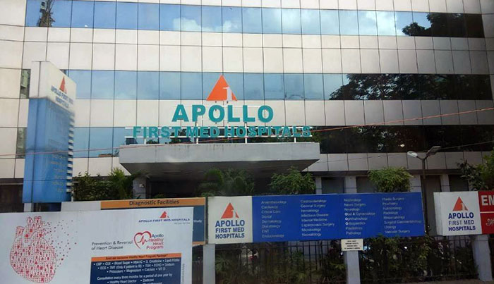 Apollo First Med Hospital, Kilpauk