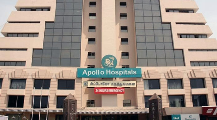 Apollo City Center Hospital, Sowcarpet