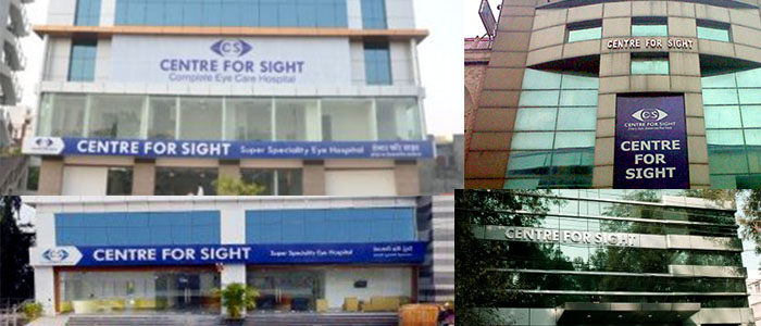 Center for Sight Hospitals , India