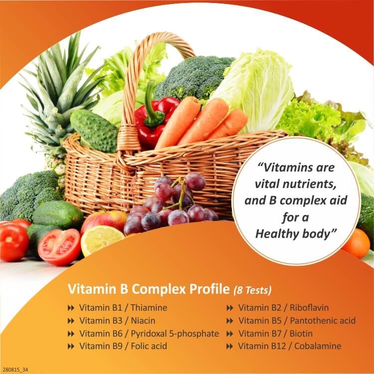 Vitamin B Complex Profile from Thyrocare