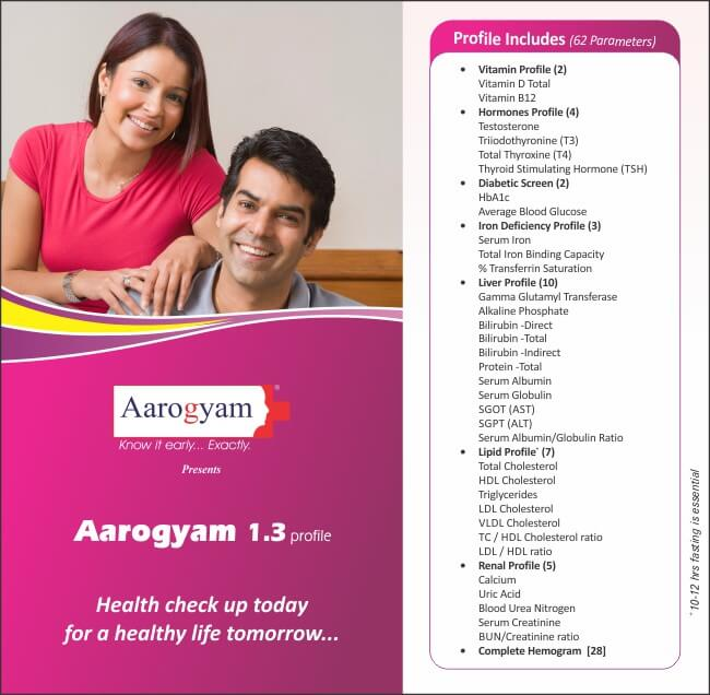 Executive Health Checkup : Pro Aarogyam 1.3
